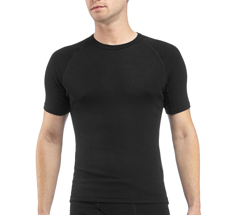 Black t shirt short sleeve - Amazon Com Icebreaker Men S Everyday Short Sleeve Crewe Top Sports Outdoors