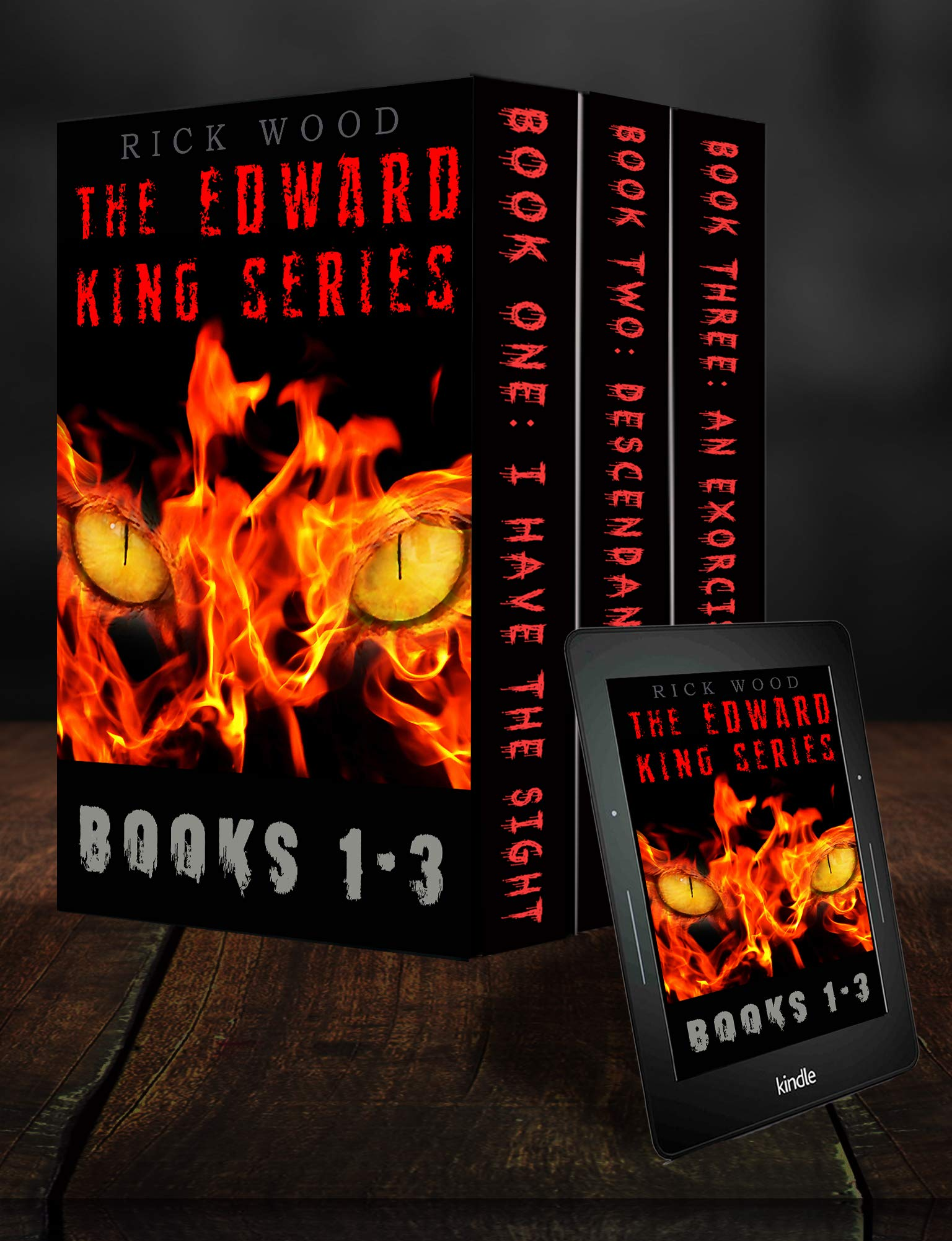 The Edward King Series Books 1-3: An Exorcism Horror Series