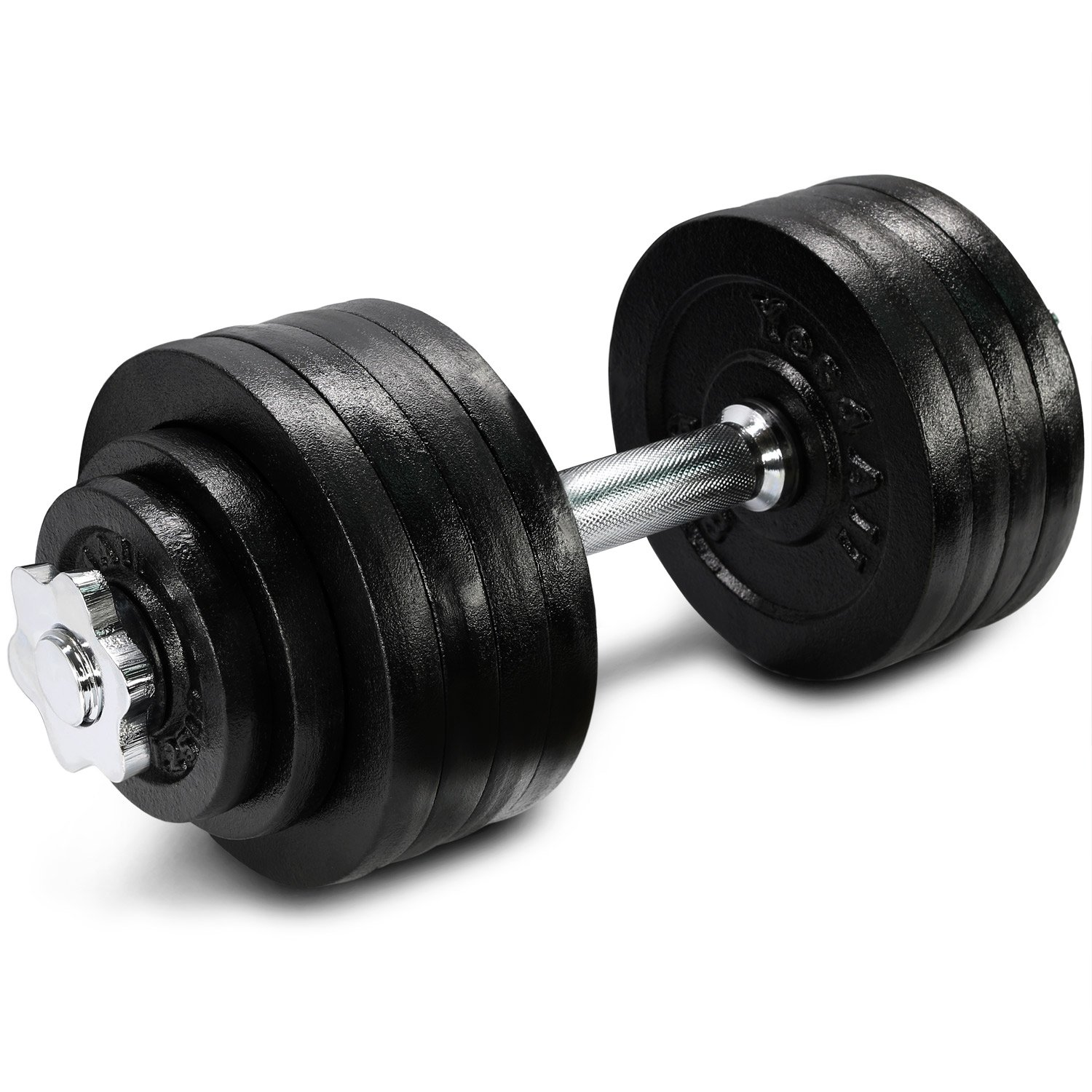 Yes4All Adjustable Dumbbells - 52.5 lb Dumbbell Weights (Single) by Yes4All (Image #1)