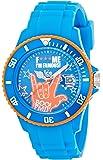 ICE-Watch - Montre Mixte - Quartz Analogique - F*** ME I'M FAMOUS - Blue boo - Unisex - Cadran Bleu - Bracelet Silicone Bleu - FM.SS.BEB.U.S.11
