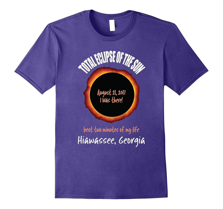 2017 Eclipse Souvenir Hiawassee, Georgia T Shirt-CL