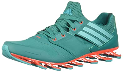 cheaper 72950 06edf adidas Men s Springblade Solyce Running Shoes, Black, Green   Red (Eqtver    Verimp