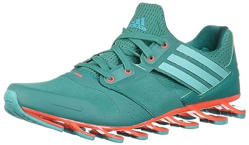fca93ecccc adidas Springblade Solyce, Zapatillas de Running para Hombre, Verde/Rojo  (Eqtver/Verimp/Rojsol), 44 2/3 EU: Amazon.es: Zapatos y complementos