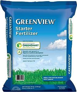 GreenView 2131254 Starter Fertilizer 16 lb, Covers 5,000 sq. ft.