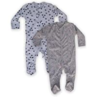 The Boo Boo Club® Cotton Baby Cotton jumpsuir Sleepsuit Romper, Set of 2