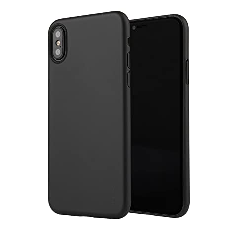 coque noir ultra fine iphone xs
