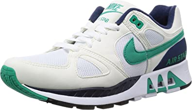 Nike Air Stab (WhiteSailMidnight NavyEmerald Green) (US