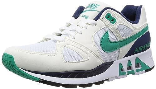 020f83991a5c Nike Mens Air Stab White Sail Midnight Navy Emerald Green 312451-100