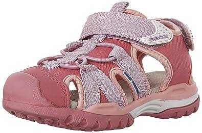 Geox Mädchen JR Sandal Fresh Girl, Pink/Flieder, 30 EU