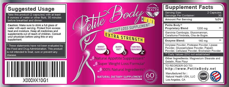 Amazon.com: Natural Appetite Suppressant / Fat Burner For ...