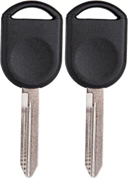 USARemote Replacement 80 Bit Transponder Ignition Car Key fits H92 H84 H85 Ford Lincoln Mercury guaranteed to work