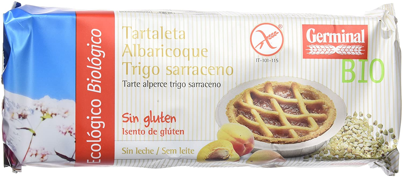 Germinal Tartaleta de Albaricoque y Trigo Sarraceno Sin Gluten - Paquete de 8 x 200 gr - Total: 1600 gr: Amazon.es: Alimentación y bebidas