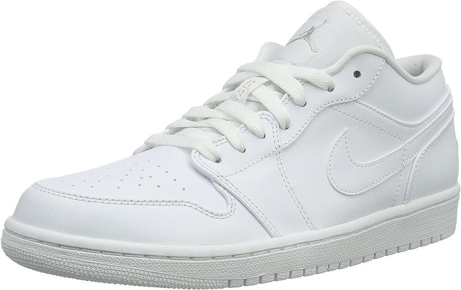 Air Jordan 1 Low, Baskets Basses Homme