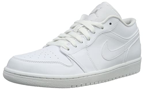 huge selection of d9d42 34fb3 NikeAir Jordan 1 Low - Scarpe da Ginnastica Basse Uomo, Bianco (Weiß (120