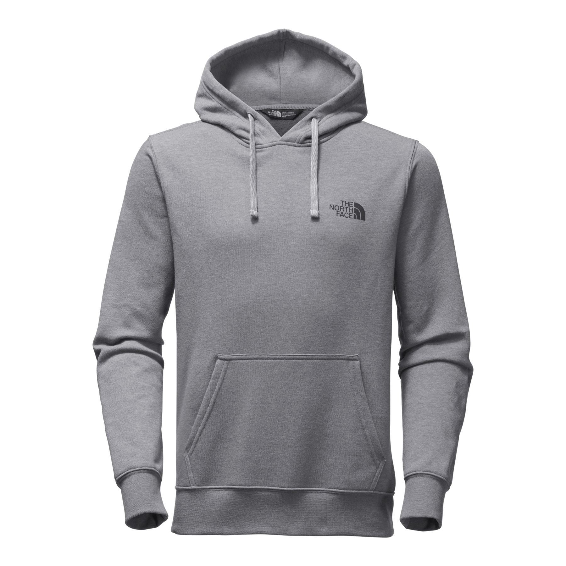 The North Face Men's Red Box Pullover Hoodie - TNF Medium Grey Heather & TNF Black - XXL by The North Face