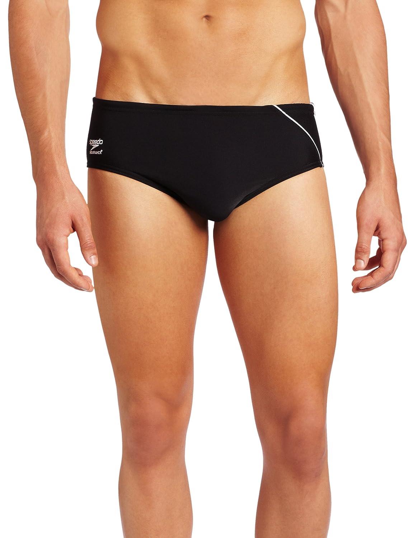 Speedo Men's Endurance+ Mercury Splice Brief Swimsuit Warnaco Swimwear - Speedo 8051201