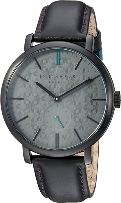 2e5df976032 Amazon.com  Ted Baker Men s Trent Stainless Steel Quartz Watch with ...