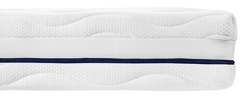 Traumnacht Traumnacht Traumnacht 4-Star Orthopädische 7-Zonen Tonnentaschenfederkern-Matratze, Härtegrad 3 (H3), 120 x 200 cm,weiß af94b8