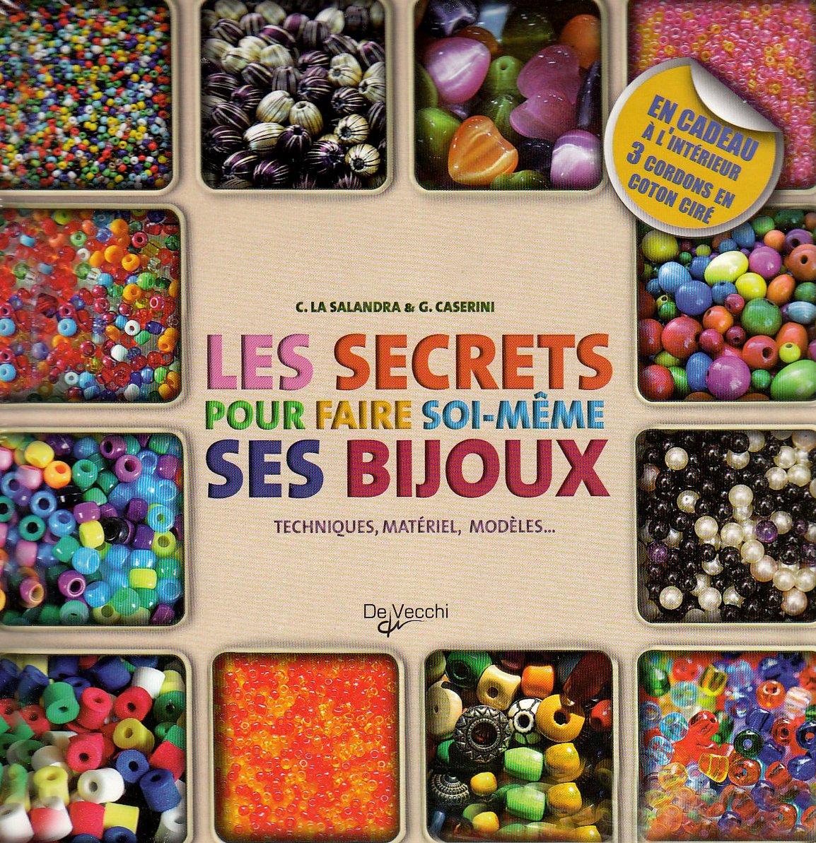 Amazon.fr - Les secrets pour faire soi-même ses bijoux Coffret en 2 volumes  : Bijoux en perles, rubans et cordons ; Bijoux ethniques : Techniques,  matériel, ...