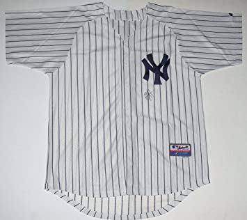 C.C. Sabathia Autographed Jersey (Yankees) at Amazon s Sports ... ba18fe913f9