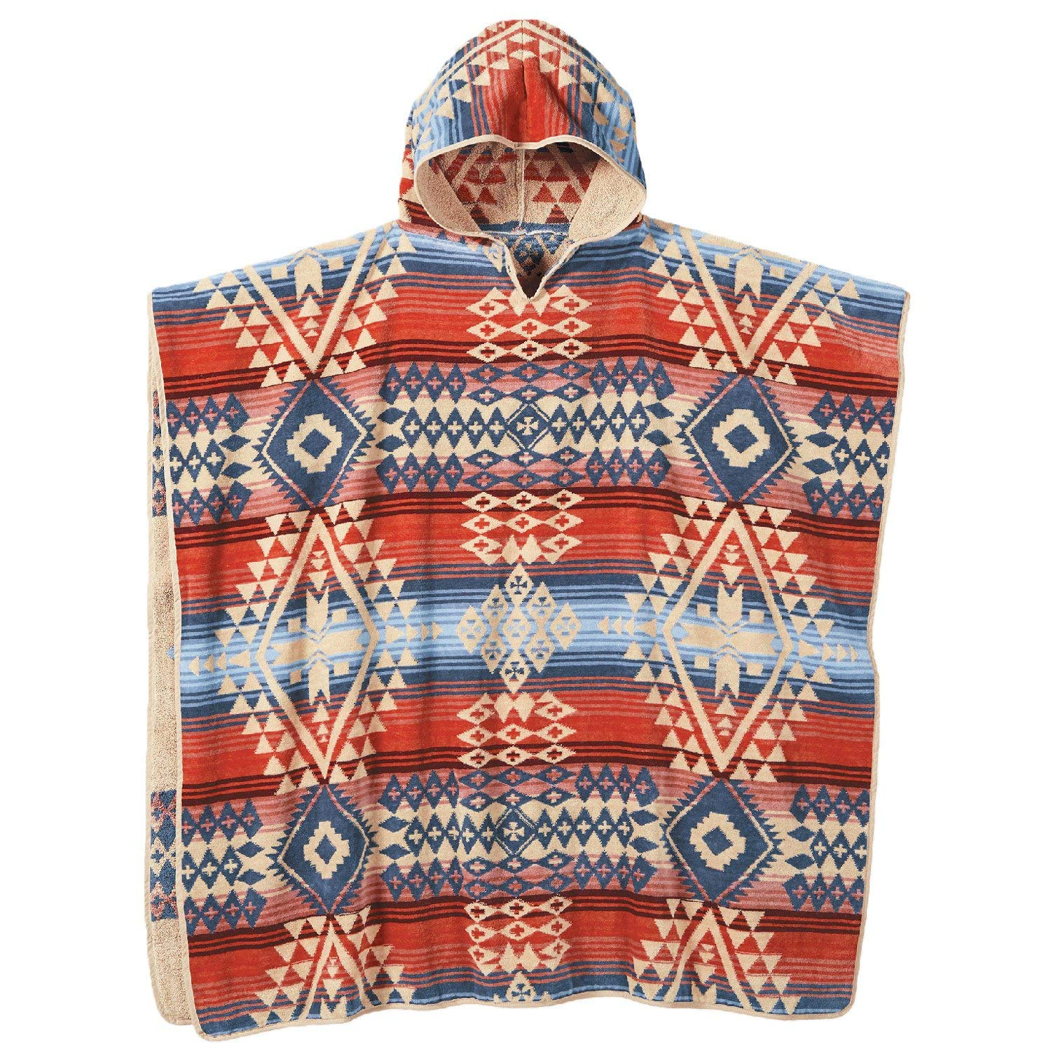 Pendleton Canyonlands Adult Hooded Towel - One Size, Blue