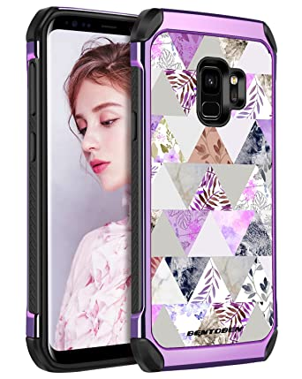Amazon.com: BENTOBEN Galaxy S9 Funda con diseño de pavo real ...