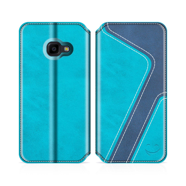 4335ca4ec0f MOBESV Smiley Funda Cartera Samsung Galaxy XCover 4 Funda Cuero Movil  Samsung XCover 4 Carcasa Case ...
