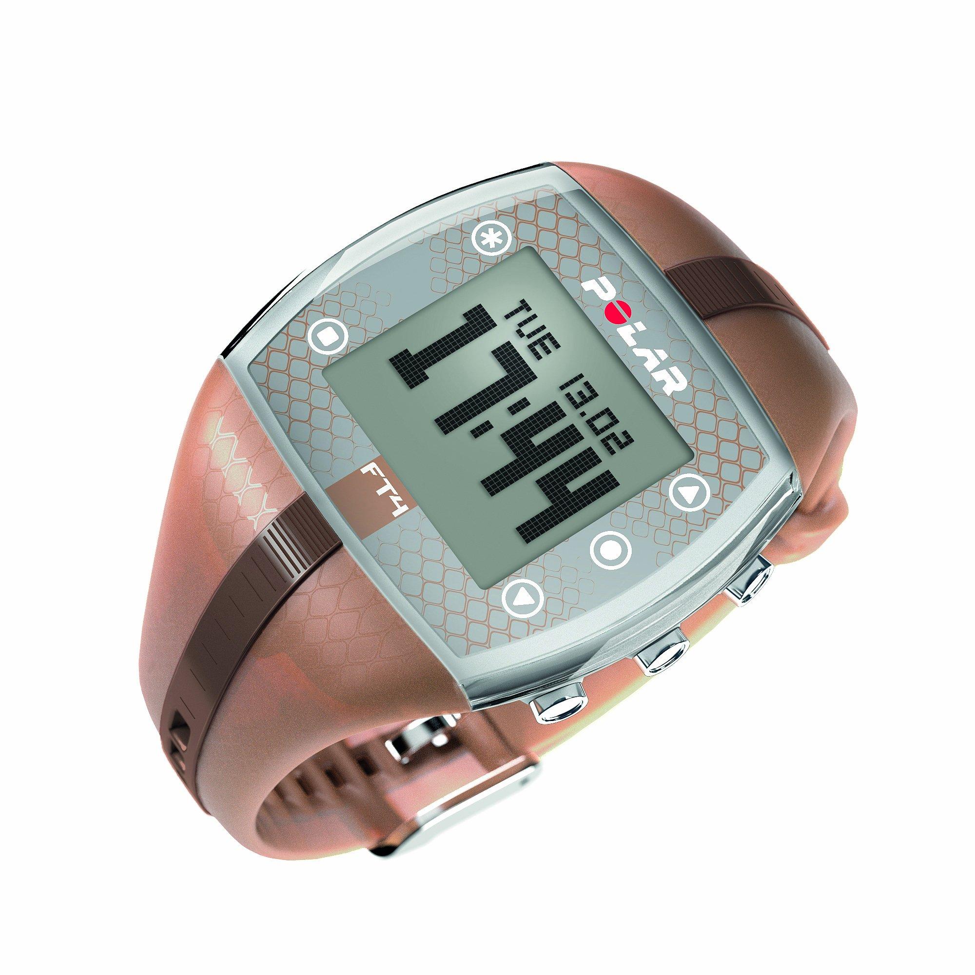 Polar FT4 Heart Rate Monitor Watch (Bronze/Bronze) by Polar
