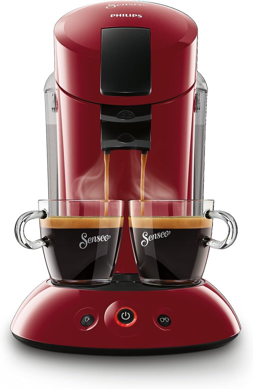 Philips Cafetera de monodosis de café HD7818/82 HD7818/82-Senseo Original XL, color rojo, 140 W, 2 cups, plástico: Amazon.es: Hogar
