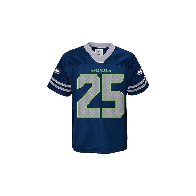 new style 5b765 67b8b Amazon.com: Richard Sherman Seattle Seahawks Navy Youth NFL ...