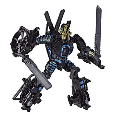 "Transformers Toys Studio Series 45 Deluxe Class Age of Extinction Movie Autobot Drift Action Figure - Ages 8 & Up, 4.5"": Toys & Games"