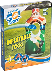 Toysmith Get Outside GO! Inflatable Sports Toss Game