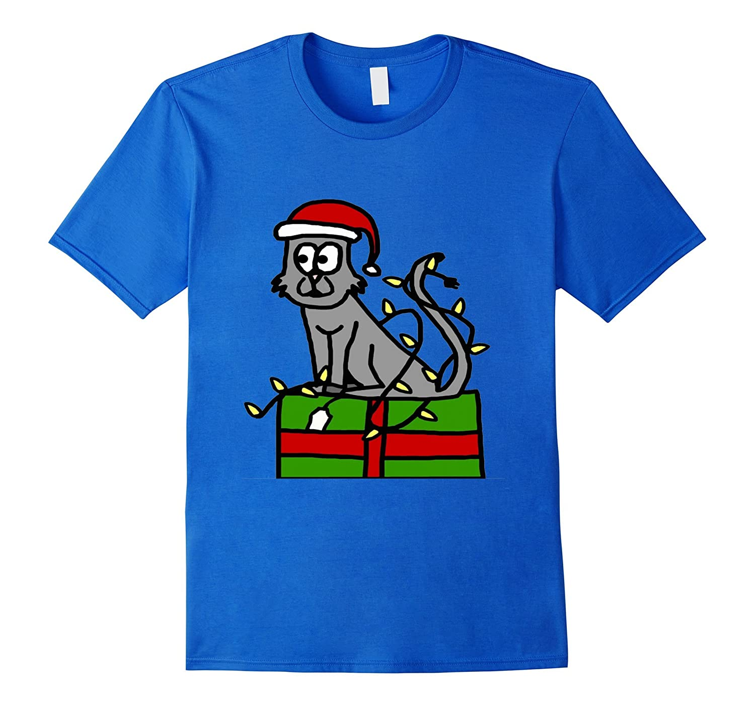 christmas gift and cat t shirts for men women boys girls cl - Christmas Shirts For Boys