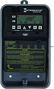 Intermatic ET8215C 7-Day 30-Amps 2XSPST OR DPST Electronic Astronomic Time  Switch, Clock Voltage 120-Volt-277-Volt NEMA 1, 2-Circuit/30-Amp, Gray -  Wall Timer Switches - Amazon.comAmazon.com