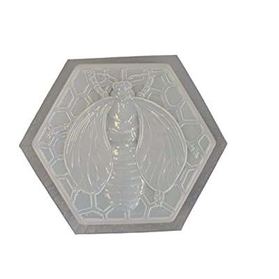 Bumble Bee Stepping Stone Concrete Plaster Mold 1060: Home & Kitchen