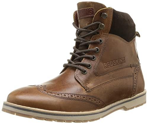 es y de hombre Atex cuero complementos Zapatos Botas Amazon Redskins Z6gfq