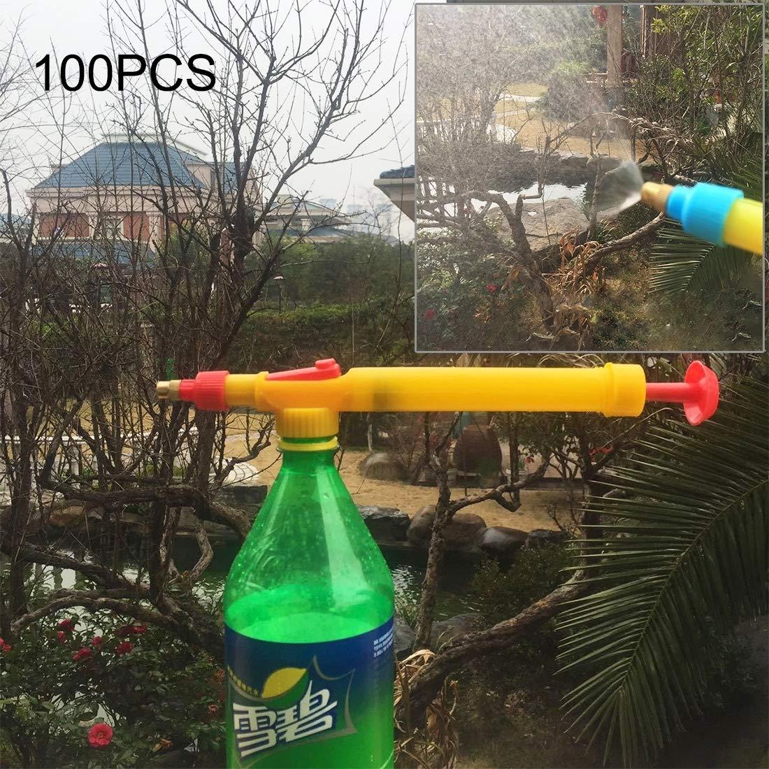 100PCS 高圧 プラスチックボトルドリンク飲料トロリーガンスプレー B07NRKB1VT