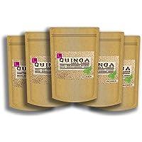 Quinoa DE Samen weiß 5kg (5 x 1kg) Sparpaket. Von bester Qualität