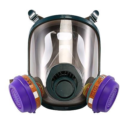 maschera antipolvere con respiratore