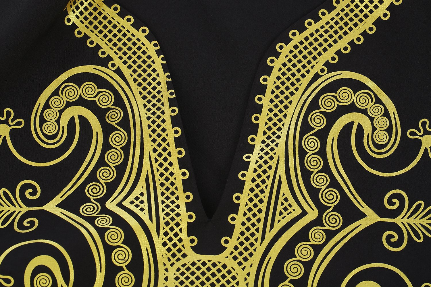 Bbalizko Mens Dashiki African Print V Neck Shirt Loose Tops Plus Size by Bbalizko (Image #3)