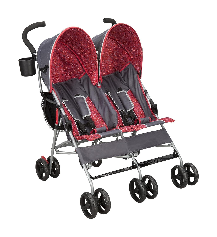 Delta Children City Street LX Side by Side Stroller, Grey Delta Children's Products 11701-026