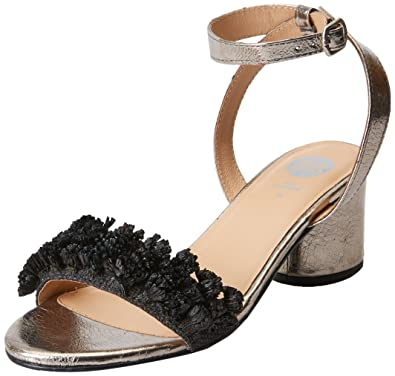 Chaussures à bout ouvert Gioseppo noires femme hpBSQ