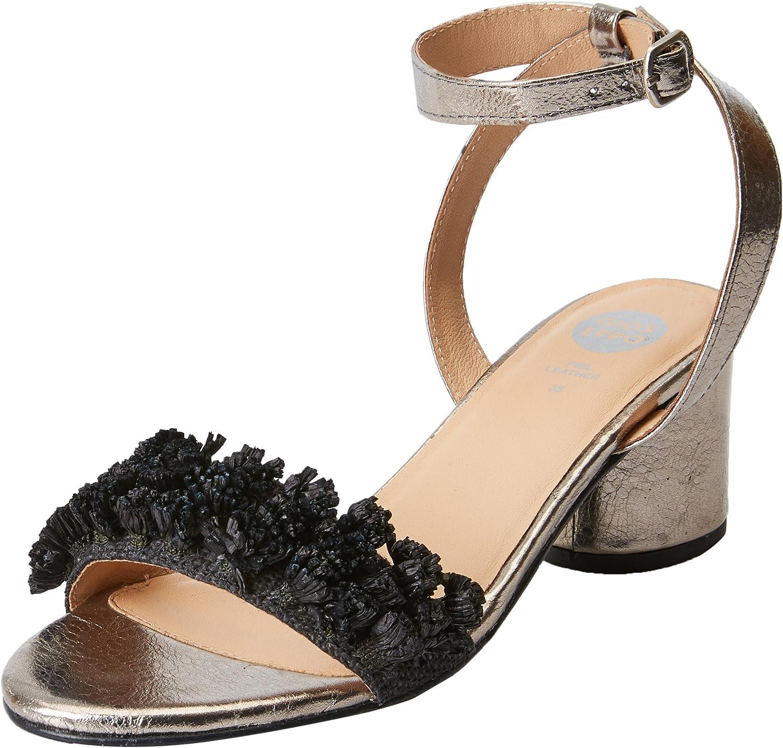 GIOSEPPO 44123, Zapatos de tacón con Punta Abierta para Mujer