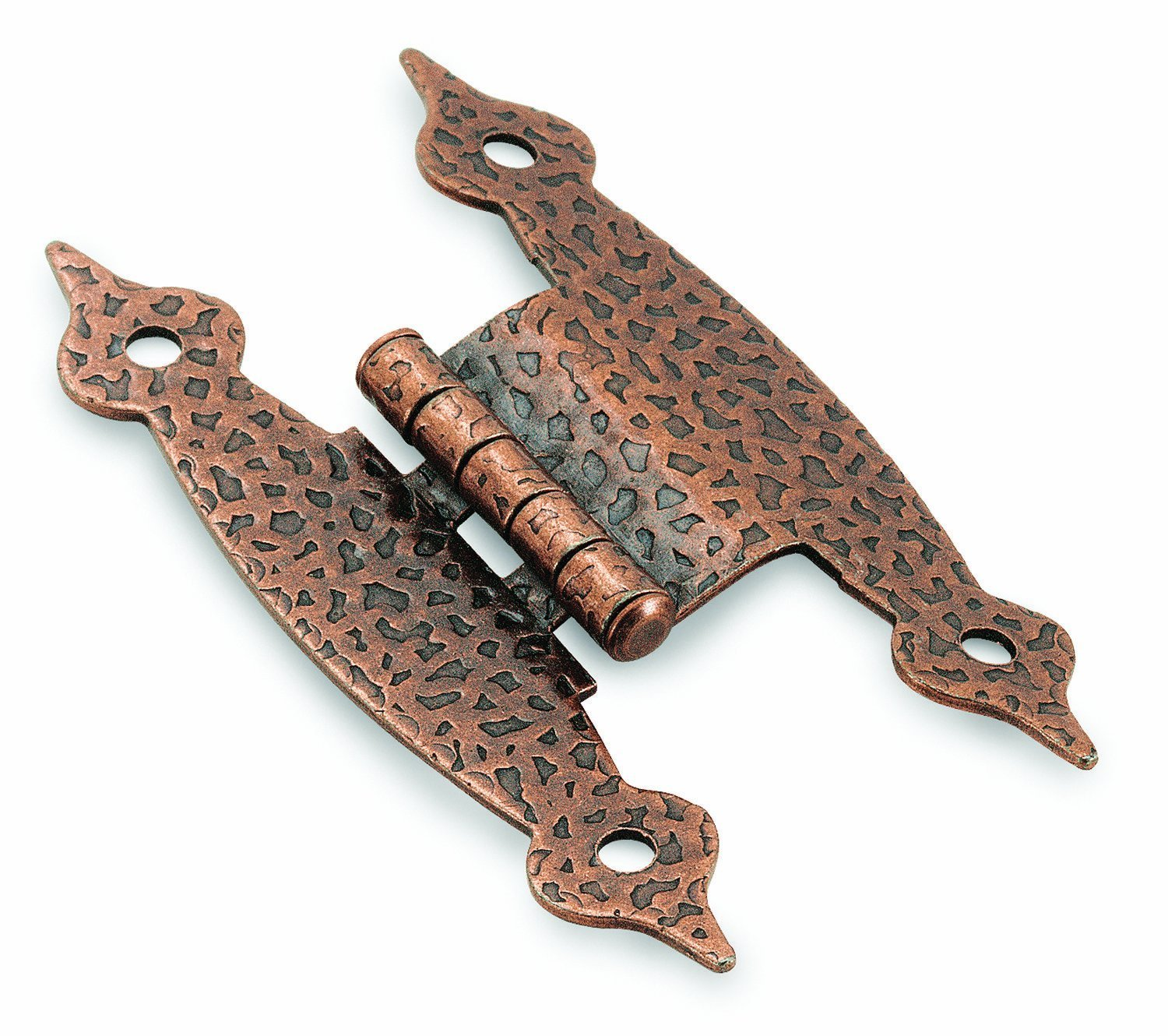 3/8in (10 mm) Offset Antique Copper Hinge - 2 Pack - Cabinet And Furniture  Hinges - Amazon.com - 3/8in (10 Mm) Offset Antique Copper Hinge - 2 Pack - Cabinet And