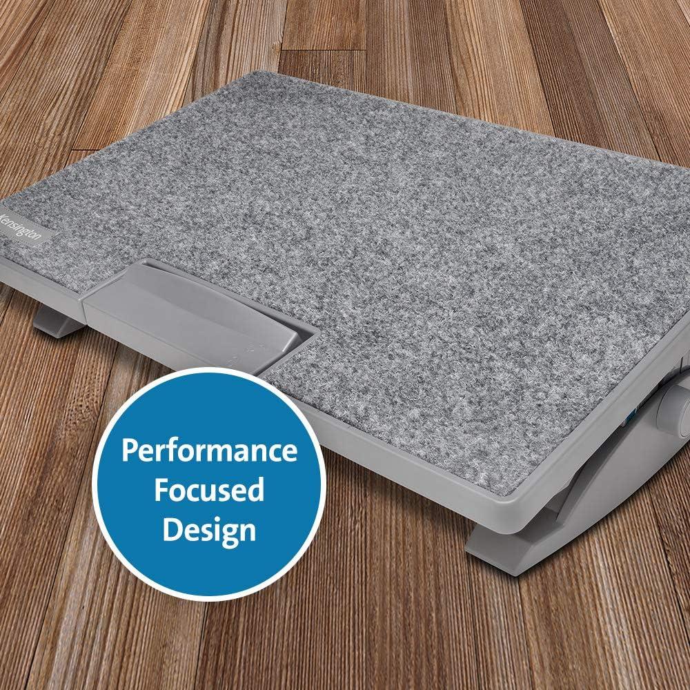 SoleMate Pro Elite Kensington Repose-Pieds Ergonomique Circulation et Confort du Dos et des Jambes Am/élior/és Posture Syst/ème SmartFit K50345EU