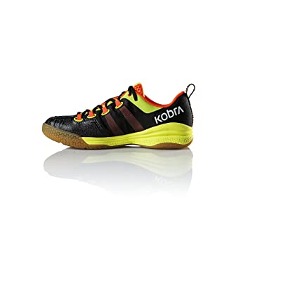 Salming Kobra Mens Squash Shoes (7.5, Black/Orange)   Tennis & Racquet Sports