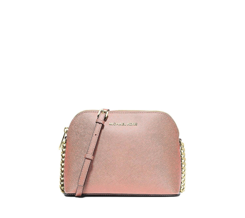 e88d976986e3 MICHAEL Michael Kors Cindy Large Dome Crossbody Pale Pink: Handbags:  Amazon.com