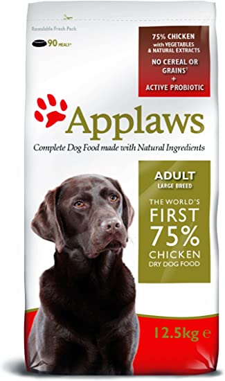 Applaws Dry Dog 12 5 Kg Bag Chicken Large Breed Amazon Co Uk Pet Supplies