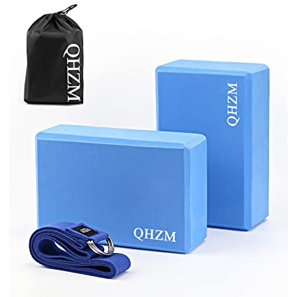 #FFFFFFT 2 Pcs Yoga Block Set, 9