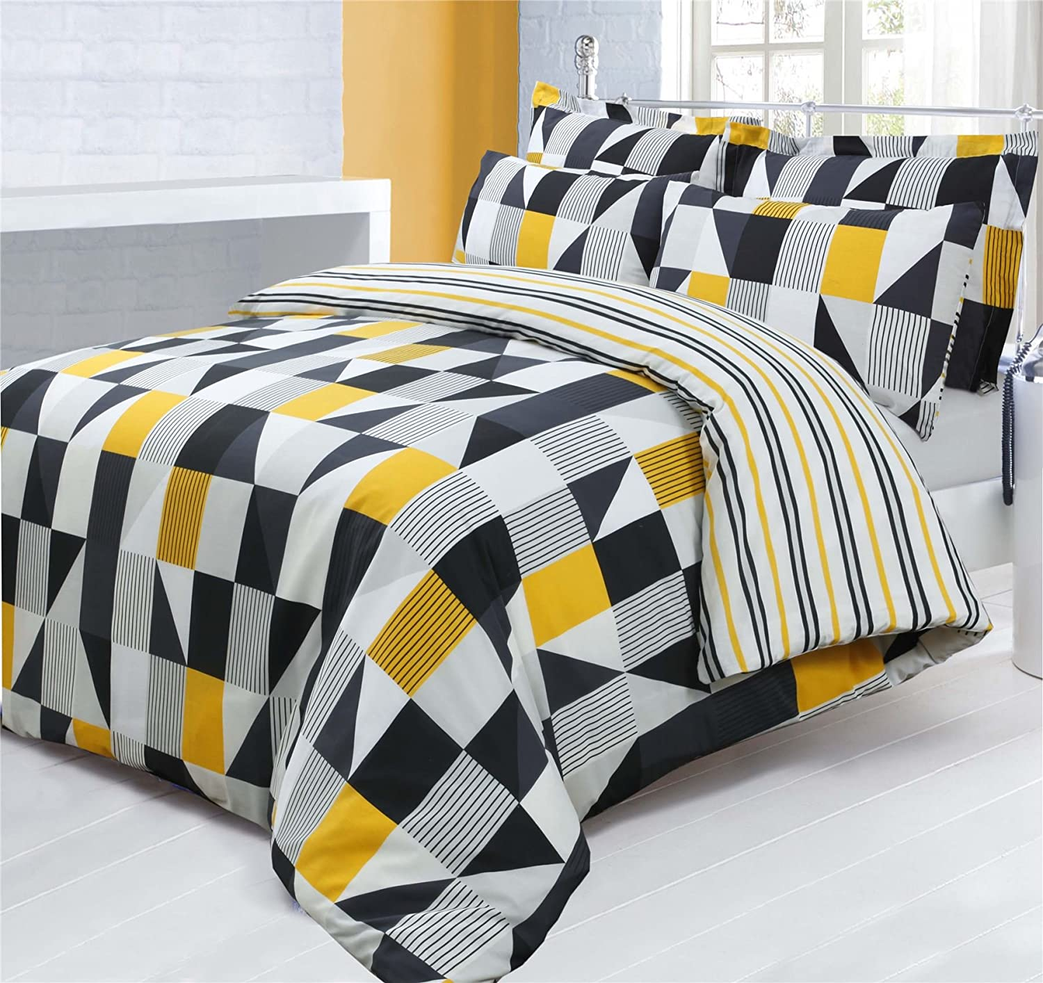 Yellow and Black Bedding – Ease Bedding with Style